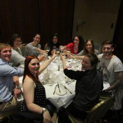 Biotech YES - Celebrating a successful elevator pitch
