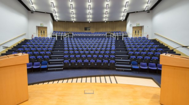 Conference Centre auditorium, view from stage