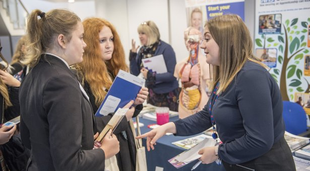 Stem professsionals from a range of careers showcased their industry.
