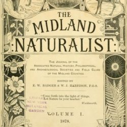 Midland Naturalist title page