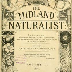 Midland Naturalist title page