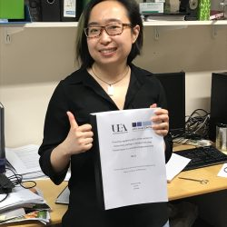 Jie Li Thesis submission day