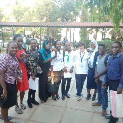 Students at Pwani University