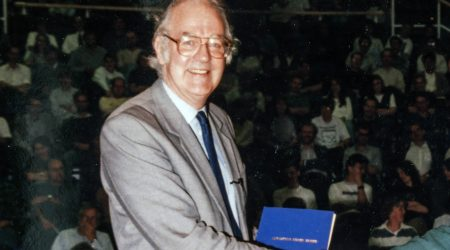 Professor Derek Burke in 1995