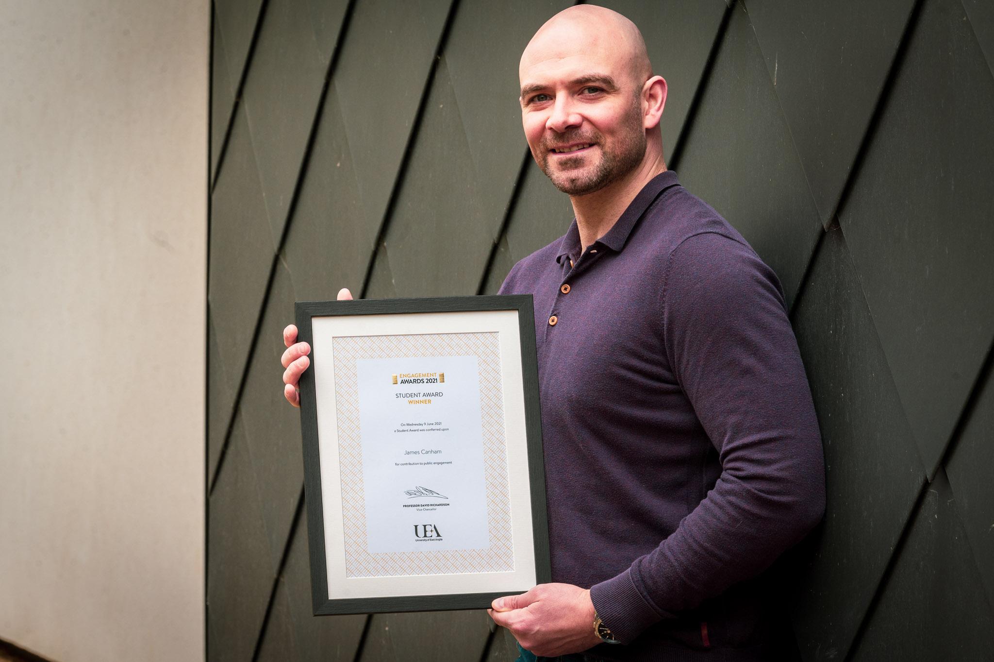 James Canham - UEA Public Engagement Awards