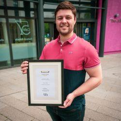 Danny Ward UEA Public Engagement Awards